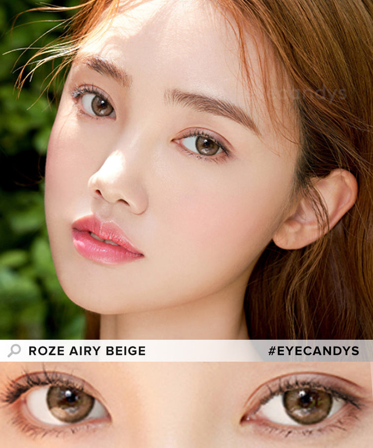Buy i-DOL Roze Airy Beige Brown Color Contacts | EyeCandys