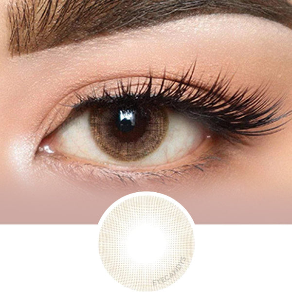 Olens Russian Velvet Brown colored contacts circle lenses - EyeCandy's