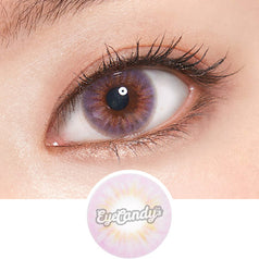 Lenstown Steallight Violet colored contacts circle lenses - EyeCandy's