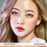 Royal Vision Velvet Blue colored contacts circle lenses - EyeCandy's