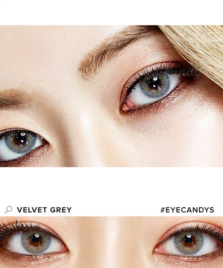 Buy Royal Vision Velvet Grey Colored Contacts | EyeCandys