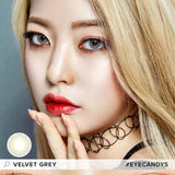 Royal Vision Velvet Grey colored contacts circle lenses - EyeCandy's