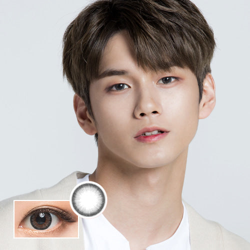 Wanna One Wannaful Pury Gray (KR) colored contacts circle lenses - EyeCandy's