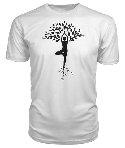 yoga Tree of life t-shirt