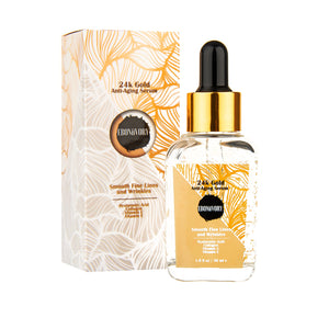 EBONiiVORY 24k Gold Anti-Aging Serum with Matrixyl 3000