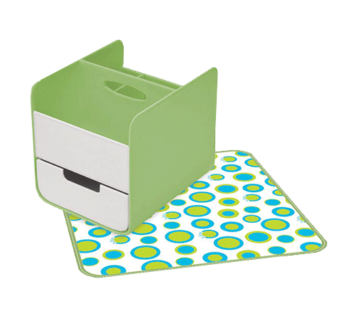B.Box Nappy Caddy – Retro Chic