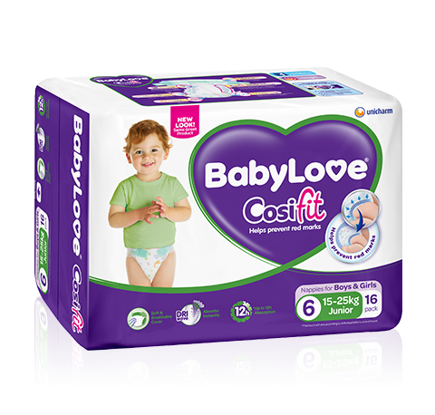 BabyLove Cosifit Junior Nappies