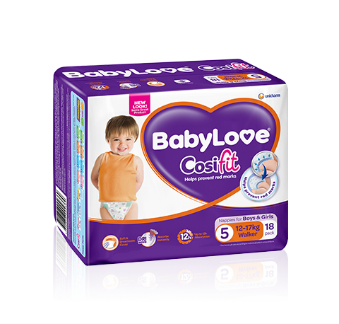 BabyLove Cosifit Walker Nappies