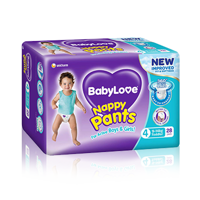BabyLove Toddler Nappy Pants