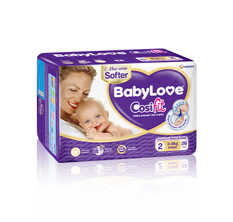 BabyLove Cosifit Infant Nappies