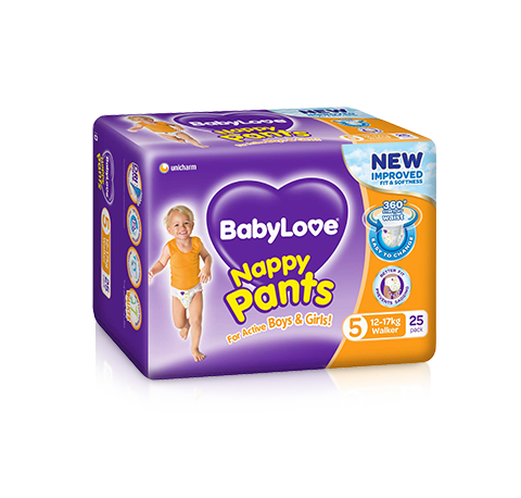 BabyLove Walker Nappy Pants