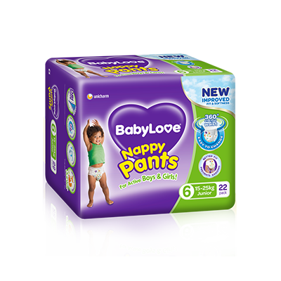 BabyLove Junior Nappy Pants