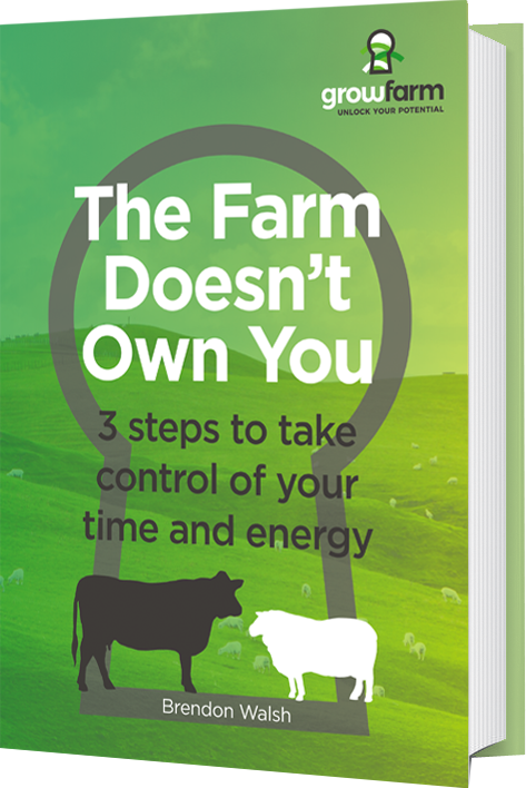 The Farm Doesn't Own You - 3 steps to take control of your time and energy