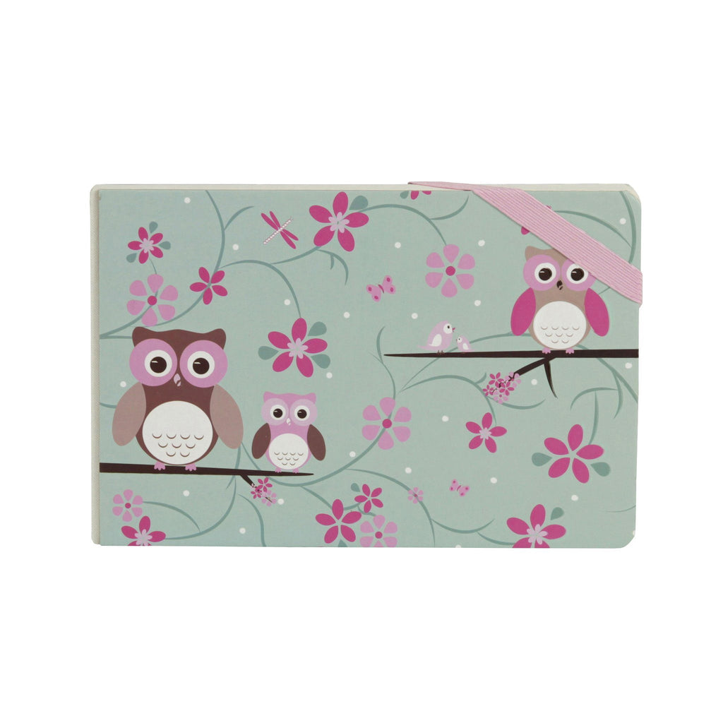 Kids & Children Notebook in Owl design - Bobble Art