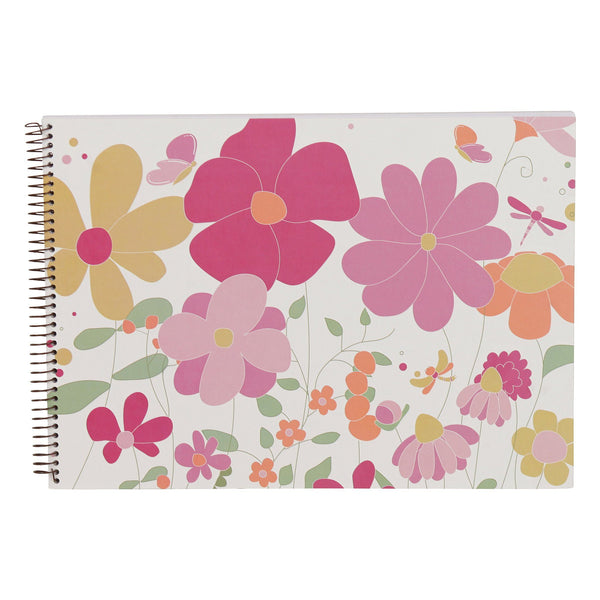 Kids & Children A3 Sketch Book Garden - Bobble Art