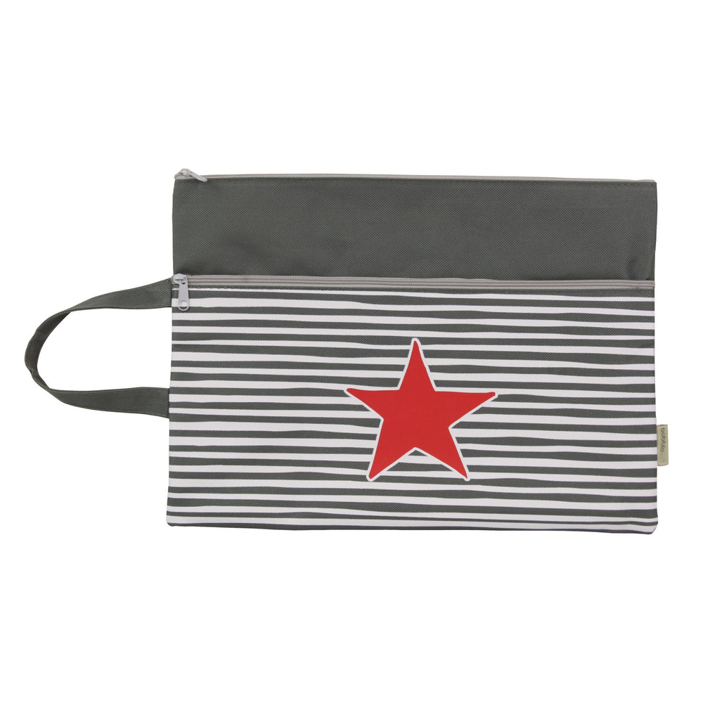 Kids & Children A4 Pencil Case Star and Stripe - Bobble Art