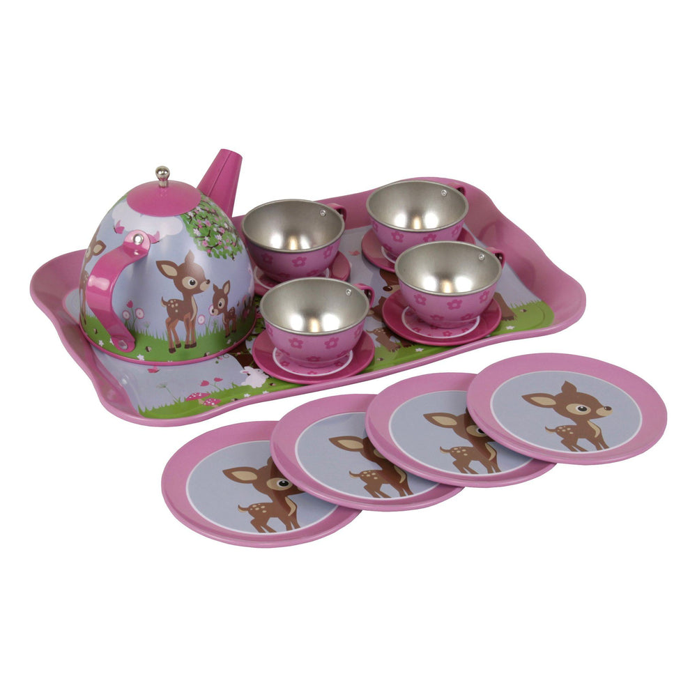 Kids & Children Tea Set Woodland Animals - Bobble Art