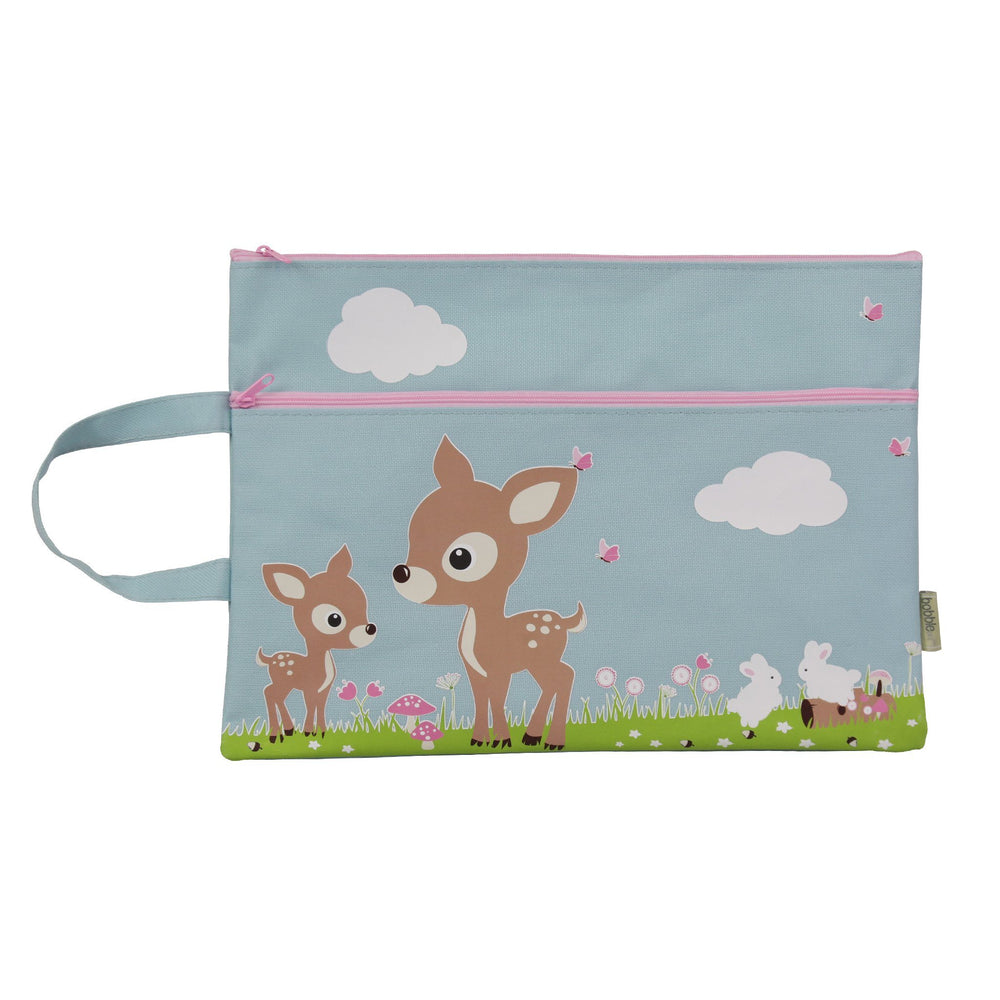 Kids & Children A4 Pencil Case Woodland Animals - Bobble Art