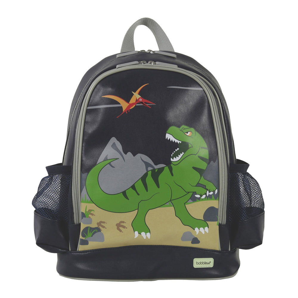 small backpack dinosaur sample