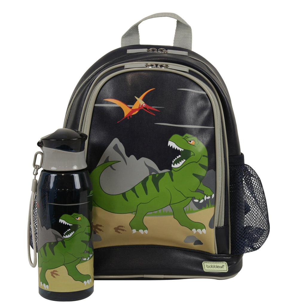 Kids & Children Small Backpack Drink Bottle Pack Dinosaur - Bobble Art