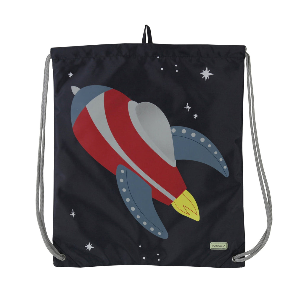 Kids & Children Drawstring Bag Rocket - Bobble Art