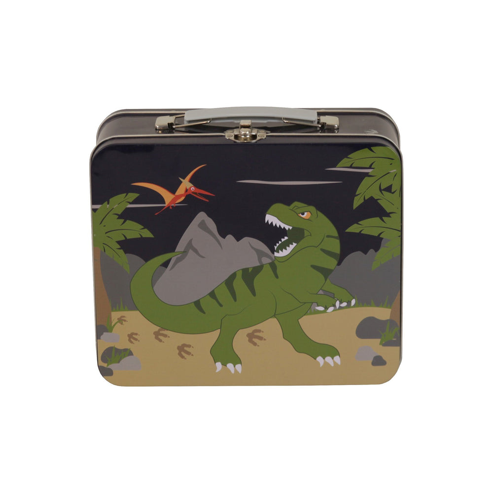 Kids & Children Tin Suitcase Dinosaur - Bobble Art