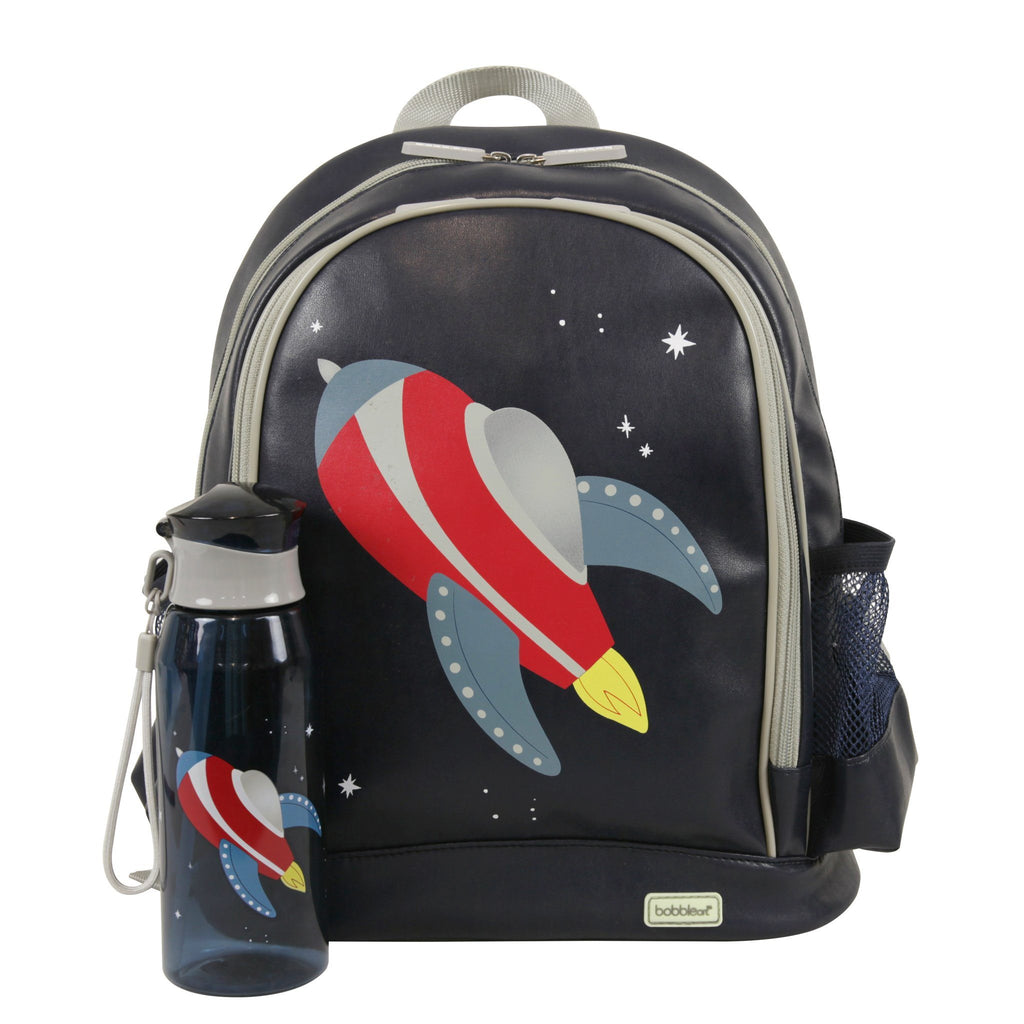 Kids & Children Large Backpack Drink Pack Rocket - Bobble Art