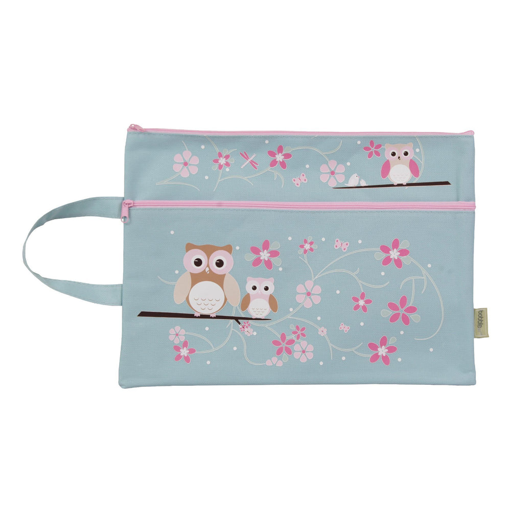 Kids & Children A4 Pencil Case Owl - Bobble Art