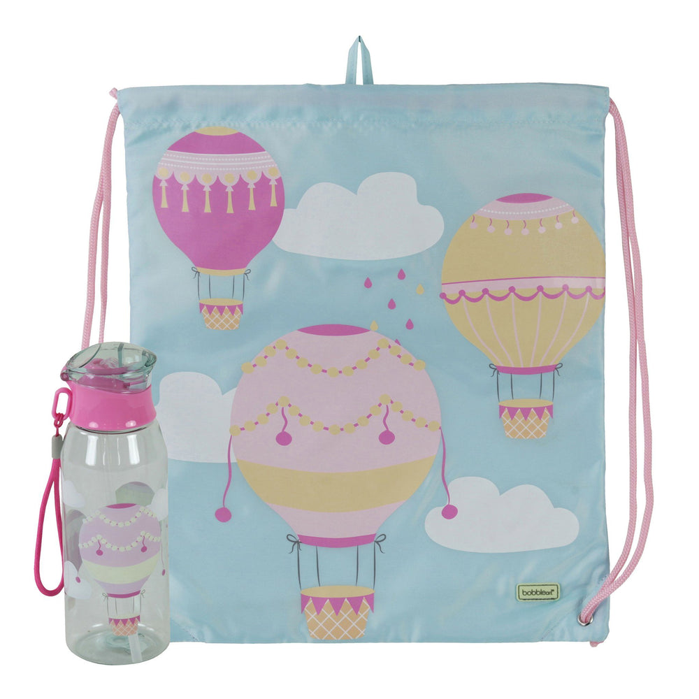Kids & Children Drawstring Bottle Pack Air Balloon - Bobble Art