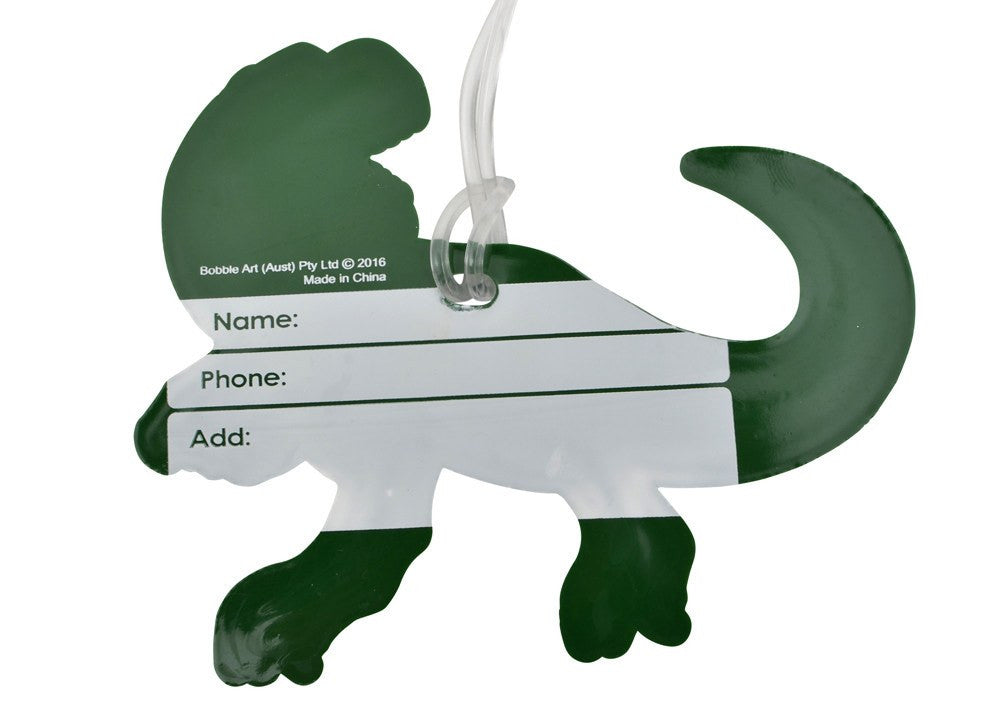 Kids & Children Baggage Tag Dinosaur - Bobble Art