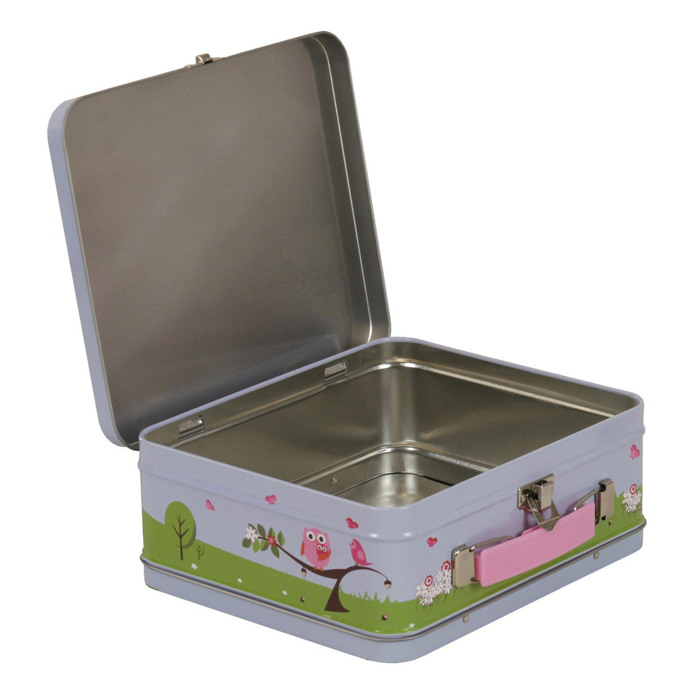 Kids & Children Tin Suitcase Woodland - Bobble Art