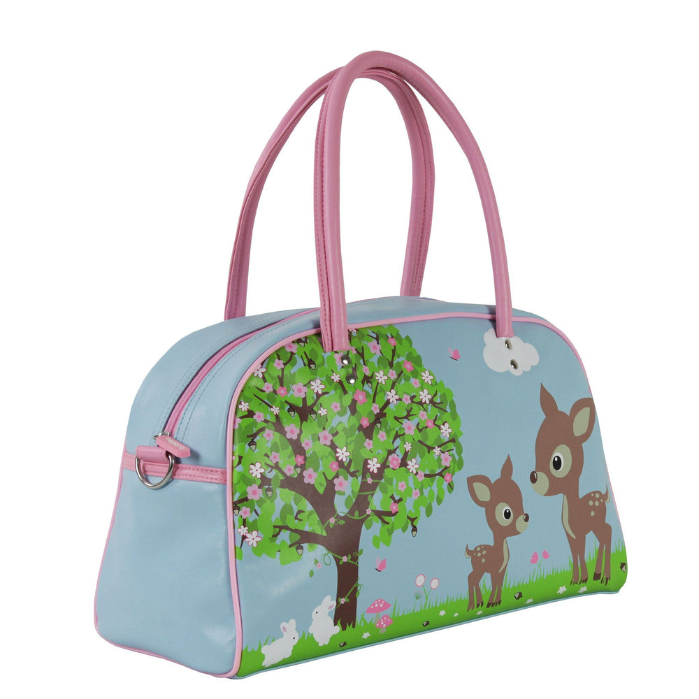 Kids & Children Bowling Bag Pack Woodland Animals - Bobble Art