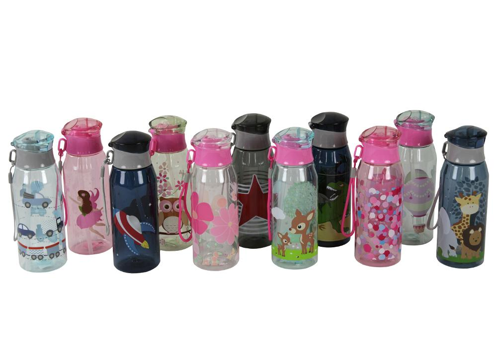 Kids & Children Drink Bottle Confetti - Bobble Art