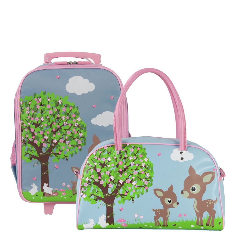 Kids & Children Wheely Bowling Pack Woodland Animals - Bobble Art