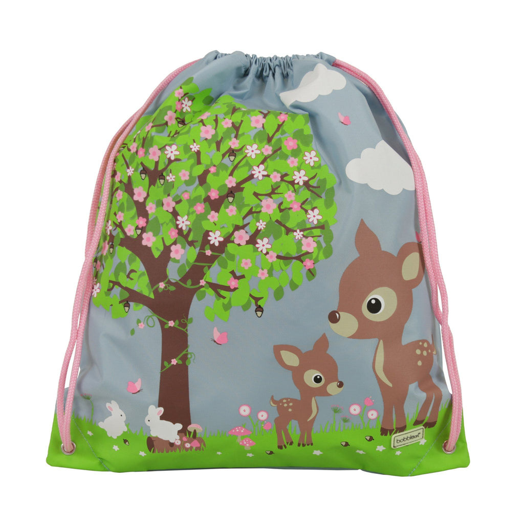 Kids & Children Drawstring Bag Woodland Animals - Bobble Art