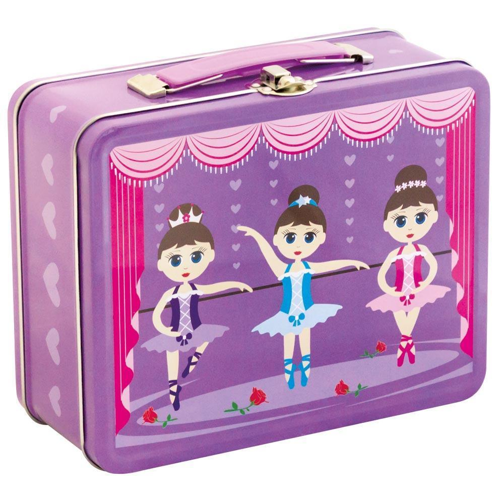 Kids & Children Tin Suitcase Ballerina - Bobble Art