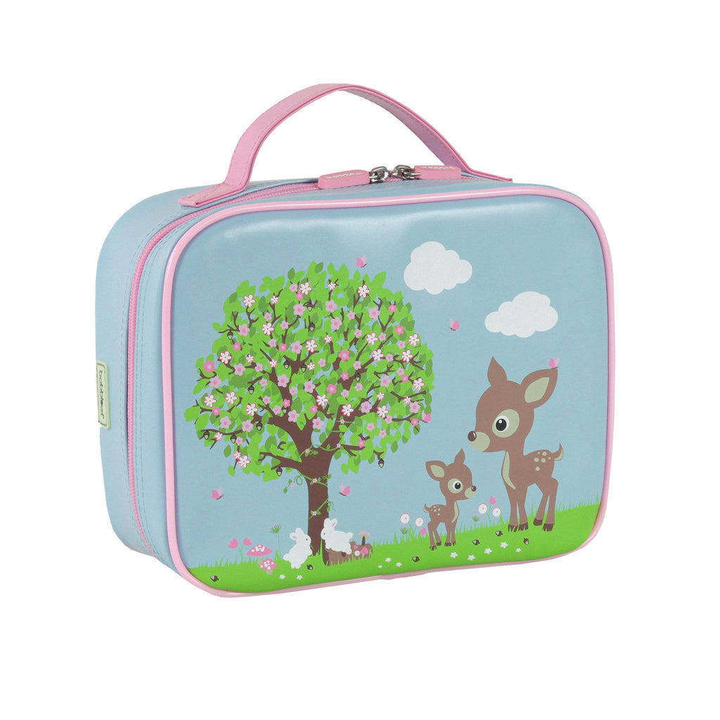 Kids & Children Large Lunch Bag Woodland Animals - Bobble Art