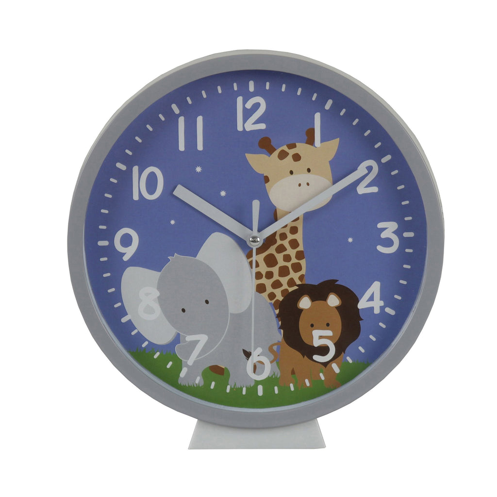 Kids & Children Wall Clock Safari - Bobble Art