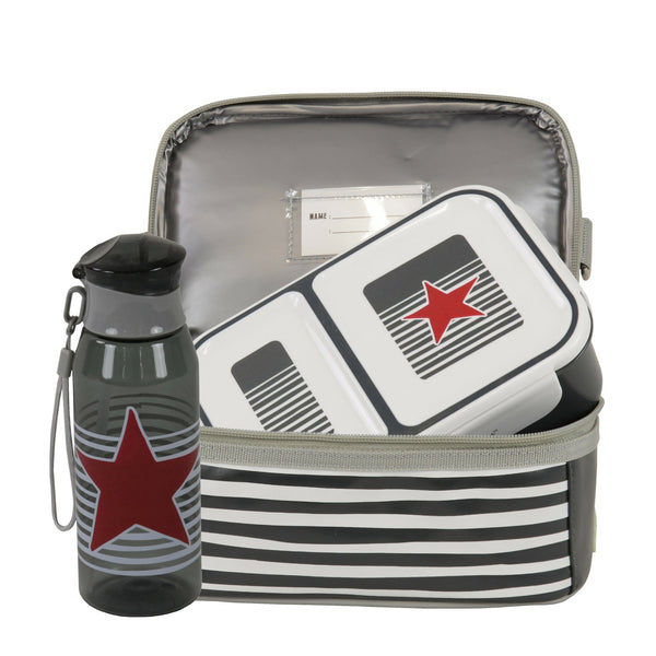Kids & Children Dome Eat and Drink Pack Star and Stripe - Bobble Art