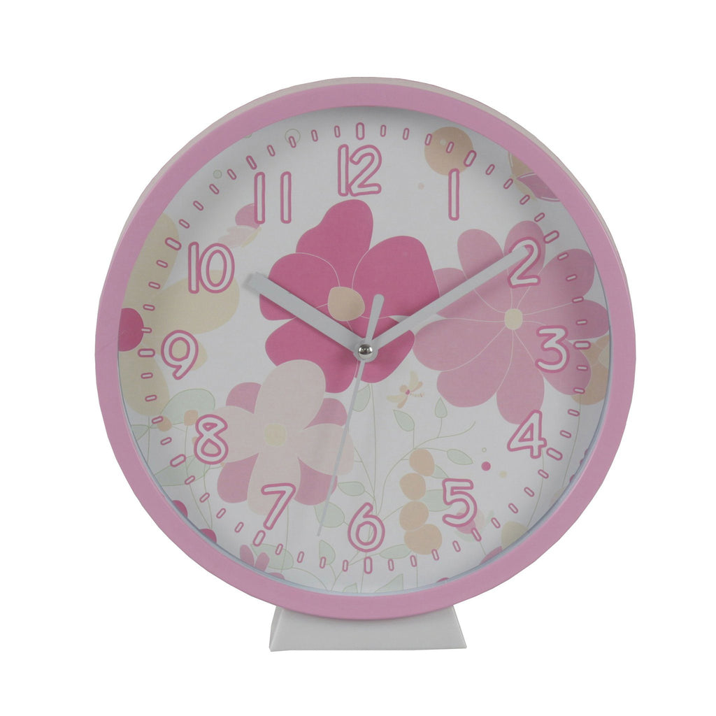 Kids & Children Wall Clock Garden - Bobble Art