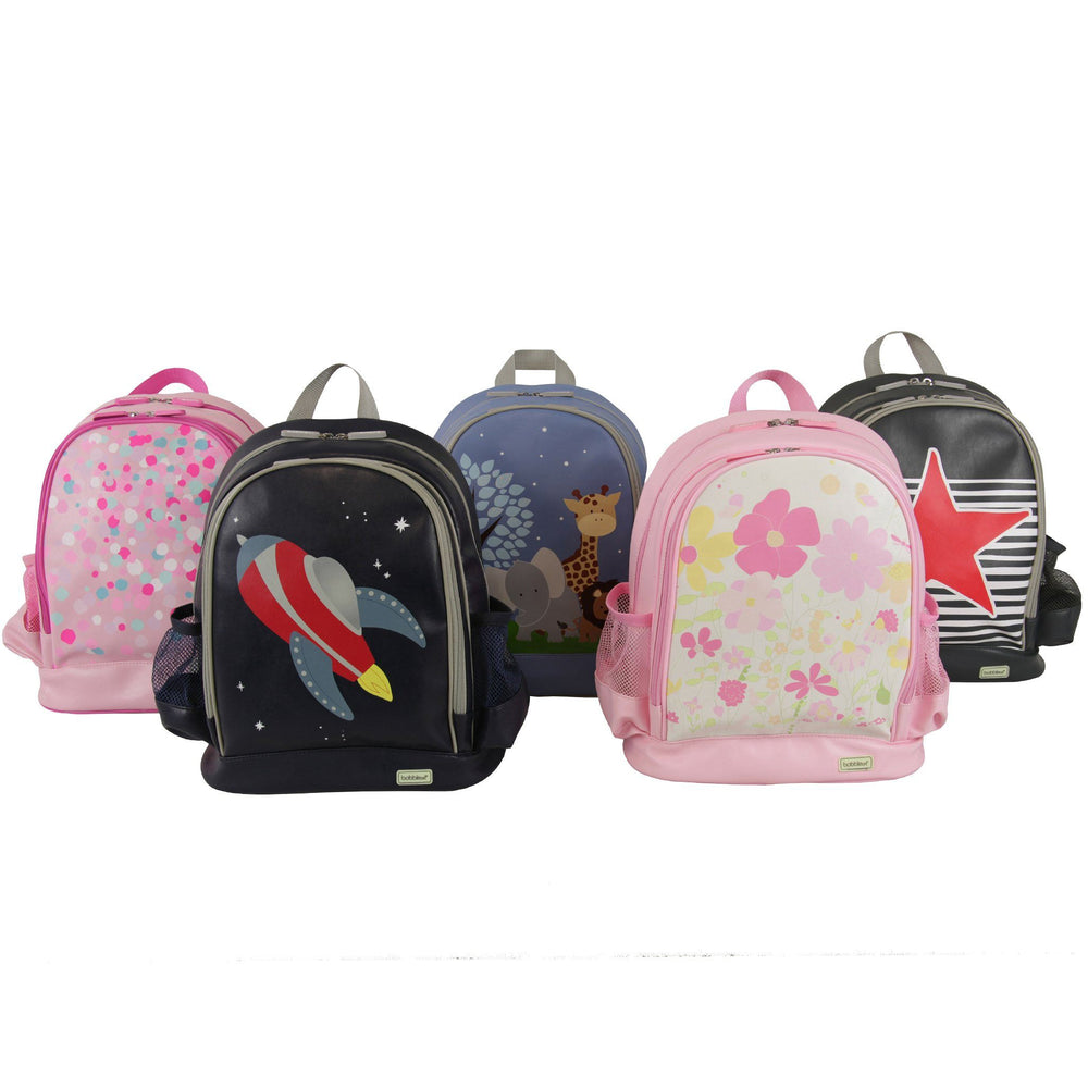 Kids & Children Large Backpack Star and Stripe - Bobble Art