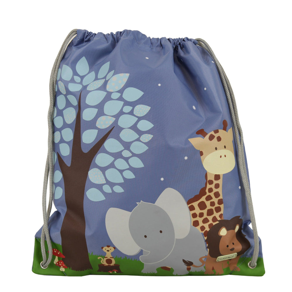 Kids & Children Drawstring Bag Safari - Bobble Art