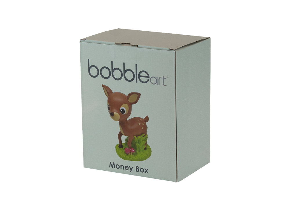 polyresin money box woodland sample