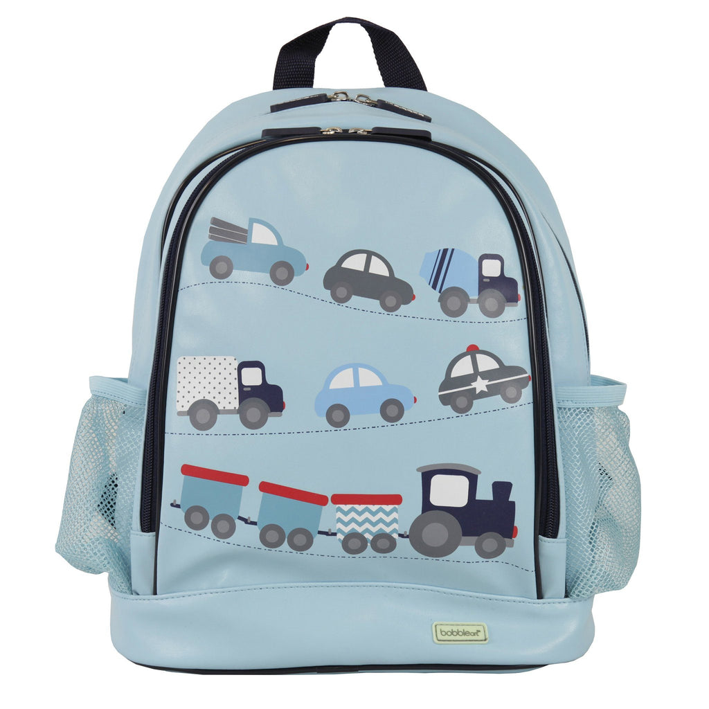 Kids & Children Large Backpack Cars - Bobble Art