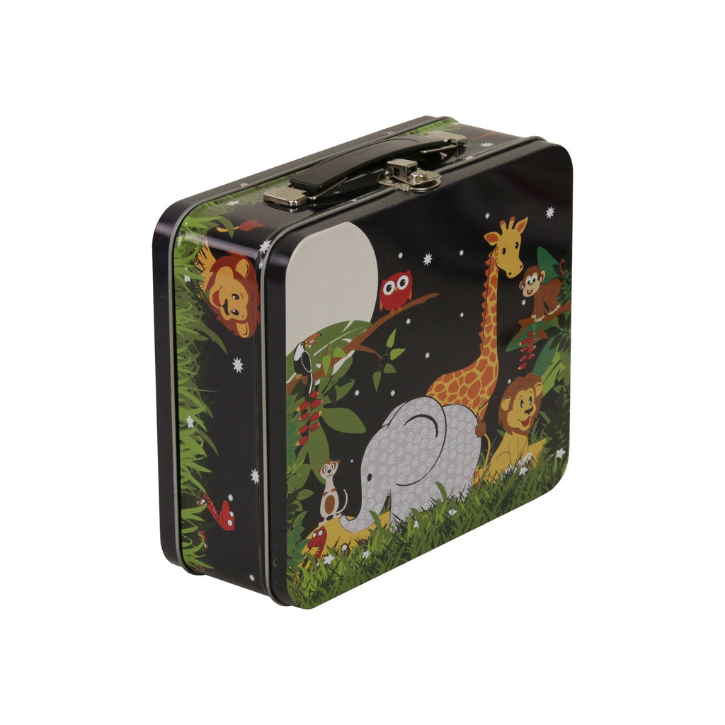 Kids & Children Tin Suitcase Jungle - Bobble Art