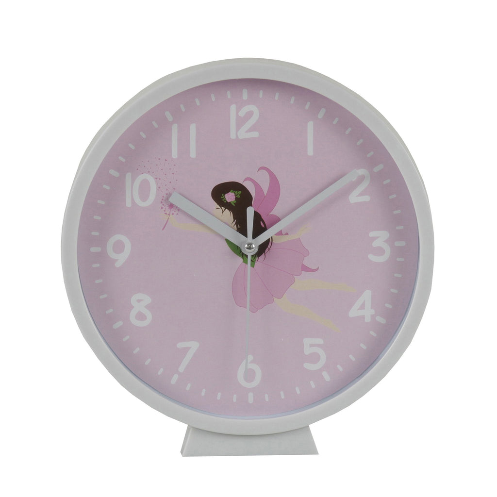 Kids & Children Wall Clock Fairy - Bobble Art