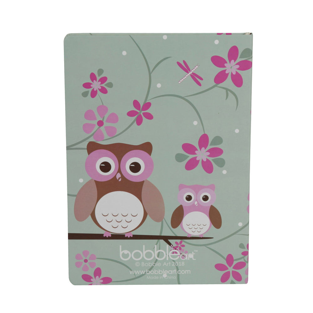 Kids & Children A4 Journal owl - Bobble Art