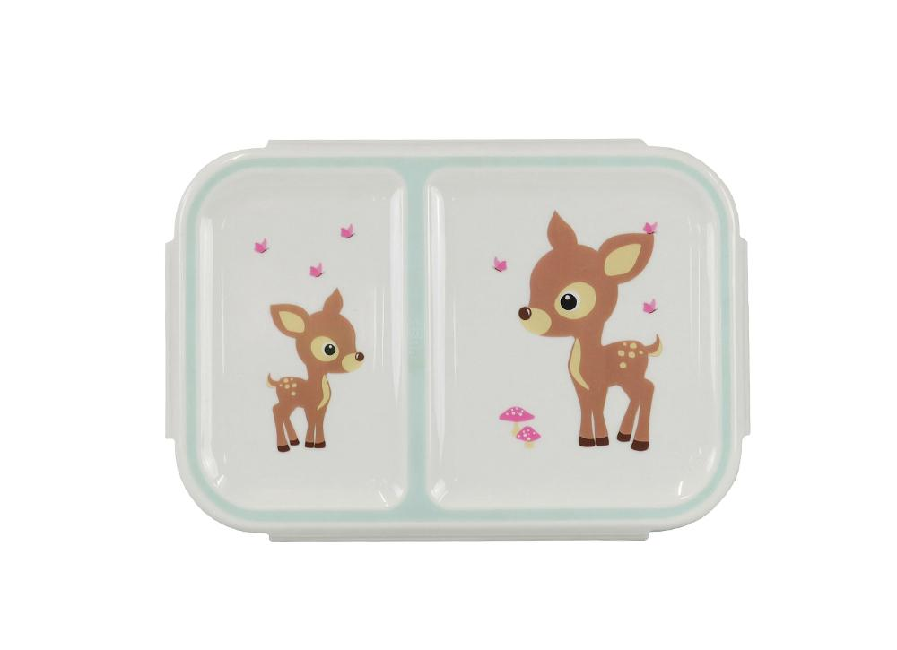 Kids & Children Small Bento Box Woodland Animals - Bobble Art
