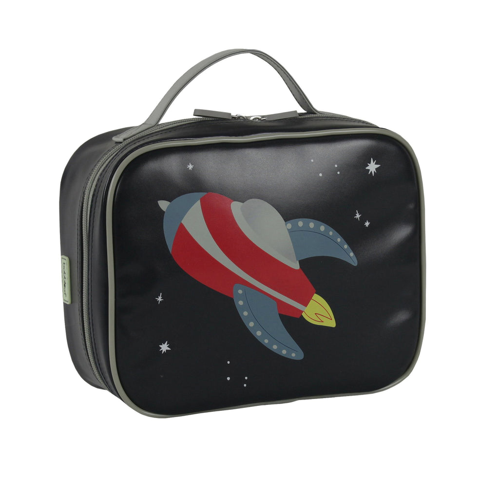 Kids & Children Large Lunch Bag Rocket - Bobble Art