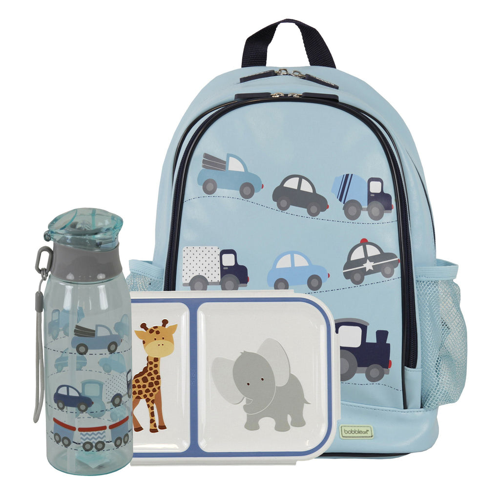 Kids & Children Small Backpack Snack Pack Cars - Bobble Art